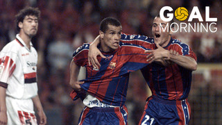 GOAL MORNING!!! Today marks 19 years since the goal from Rivaldo in the Copa del Rey final against Mallorca
