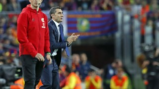 Ernesto Valverde: 'I think we've played very well'