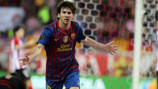 All of Leo Messi's goals in Copa del Rey finals