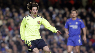 Lionel Messi's exhibition at Stamford Bridge in 2006
