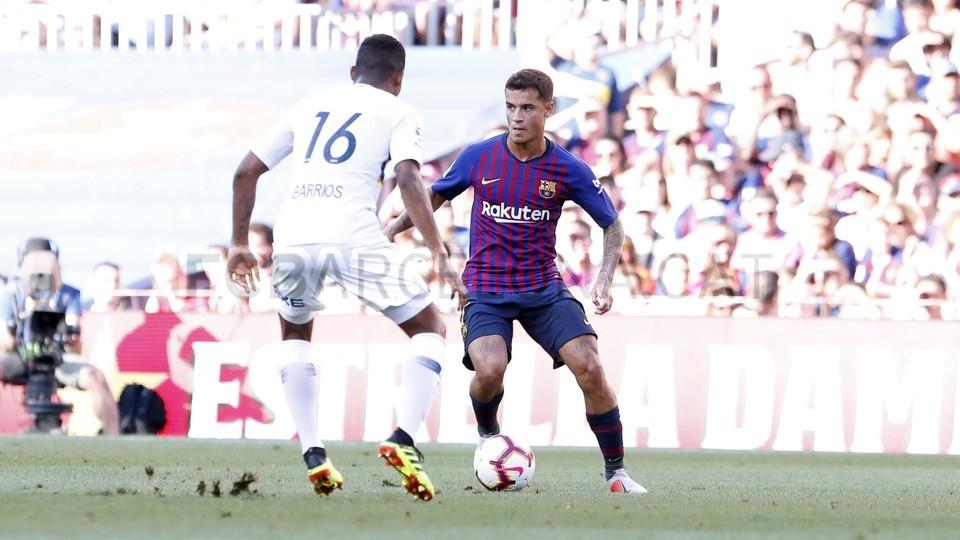 صور مباراة : برشلونة - بوكا جونيورز ( 16-08-2018 )  95974387