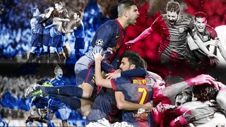 Great european nights at Camp Nou
