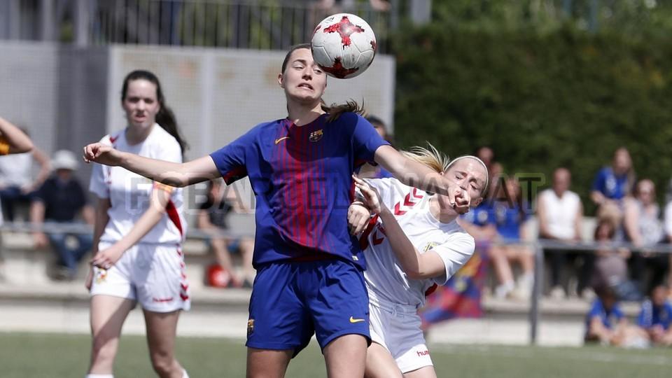 El Barça Femenino B, campeón de Segunda División - FC Barcelona