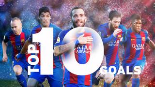 Els 10 millors gols de la temporada 2016/2017