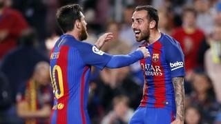 FC Barcelona 3 - Real Sociedad 2 (1 minute)