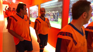Wembley'92 tribute at Camp Nou from the inside