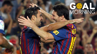 Goal Morning! Wednesday we face Osasuna. Do you remember this effort from Xavi?