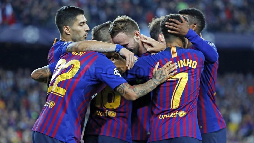 صور مباراة : برشلونة - إنتر ميلان 2-0 ( 24-10-2018 )  101529076