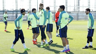 Preparations continue for the visit of Valencia