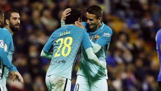 Hèrcules 1 - FC Barcelona 1 (3 minuts)