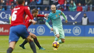 Osasuna 0 - FC Barcelona 3 (3 minutes)