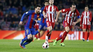 FC Barcelona 1 - Atlético de Madrid 1 (1 minuto)