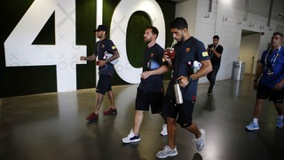 Inside View of Juventus v FC Barcelona