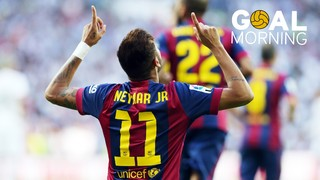 Goal Morning! We start the day with Neymar...