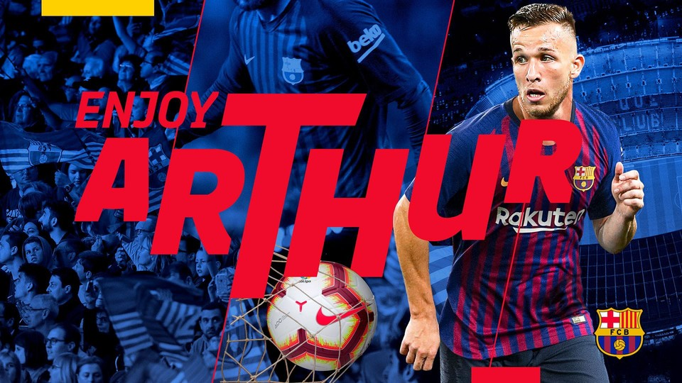 Maillot THIRD FC Barcelona Arthur