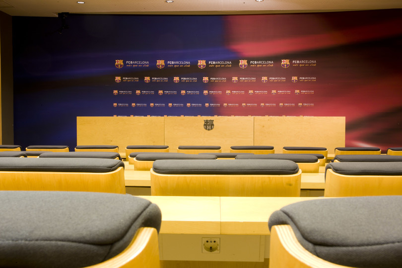 Ricard Maxenchs pressroom - FC Barcelona