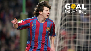 Goal Morning! We start the day with a classic goal by Leo Messi...