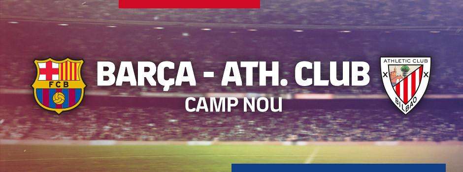 Entrades oficials Barça VS Athletic