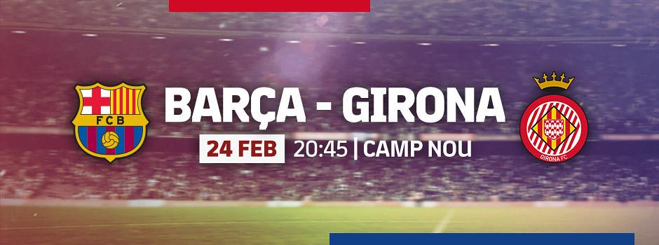 Official tickets FCB VS Girona