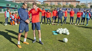 Rivaldo's masterclass with the Barça B squad