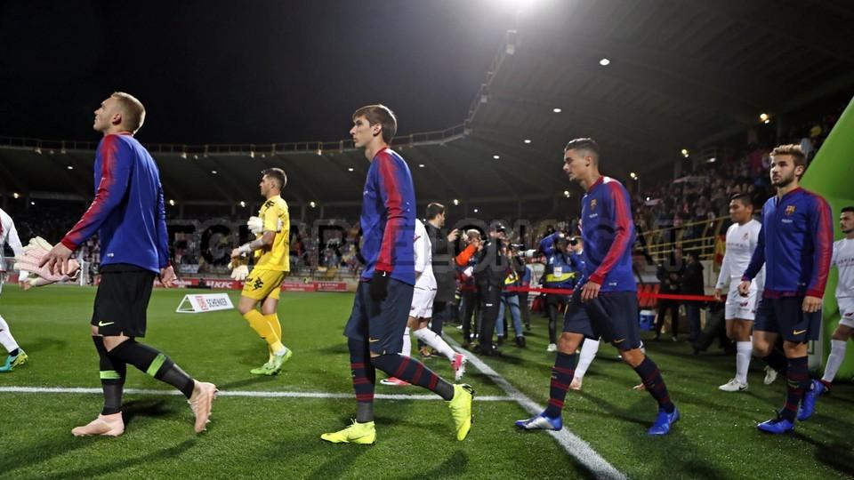 صور مباراة : كولتورال ليونيسا - برشلونة 0-1 ( 31-10-2018 ) كأس ملك إسبانيا 101944567