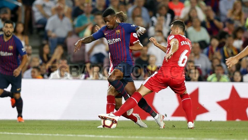 صور مباراة : برشلونة - جيرونا 2-2 ( 23-09-2018 )  99533815