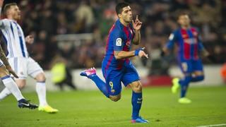 FC Barcelona 5 - Real Sociedad 2 (1 minute)