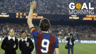 Goal Morning! JohanCruyff would have been 70 today. Your memory lives on.