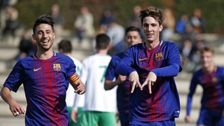 The top five goals of the week from La Masia (10-11 February)