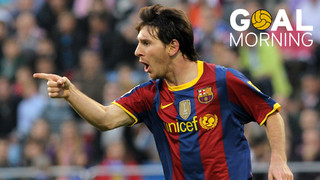 GOAL MORNING!! One of Messi's best goals for Barça