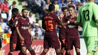 Getafe 1 - FC Barcelona 2