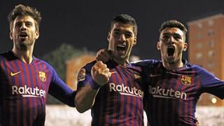 Rayo Vallecano 2 - FC Barcelona 3 (3 minutes)