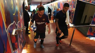 Behind the scenes at FC Barcelona 4-0 PSV Eindhoven