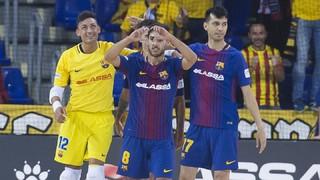 FC Barcelona Lassa 6 - 3 Palma Futsal