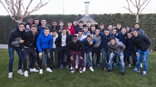 FC Barcelona B squad enjoy annual barbecue