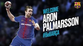 El central islandés, de 27 años y considerado uno de los mejores jugadores del mundo, llega procedente del Veszprem húngaro y vestirá de azulgrana las próximas cuatro temporadas
