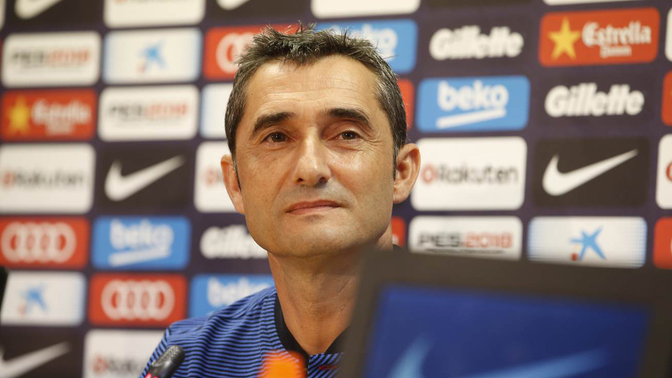 The Barça manager spoke to the media on the eve of his first match, which comes Saturday versus Juventus at MetLife Stadium