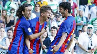 Racing Santander 1 - FC Barcelona B 4 (Playoff 2aB)