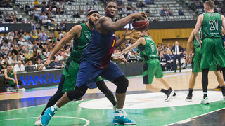 Kevin Seraphin talks about his adaptation to FC Barcelona Lassa