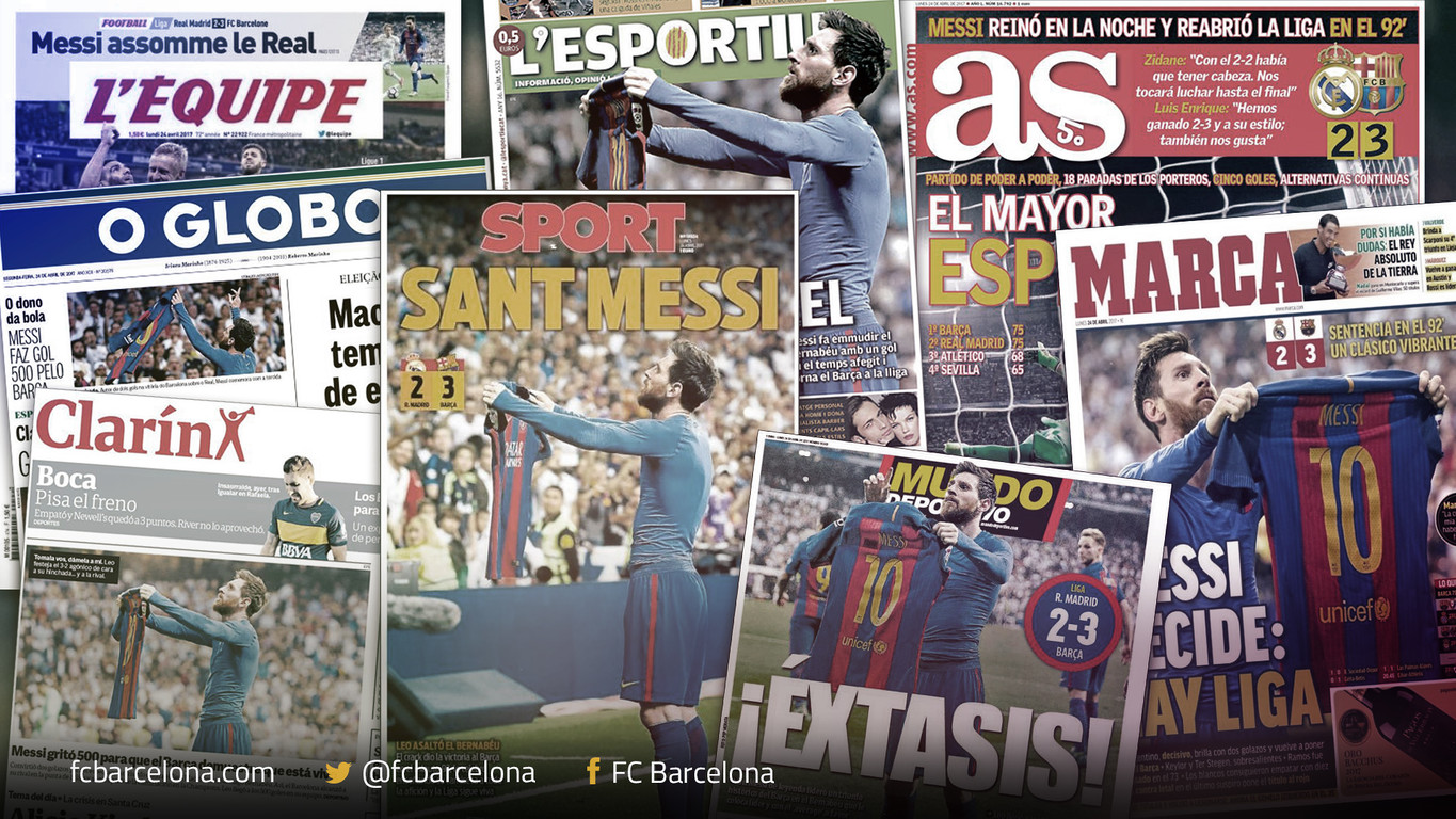 All around the world one name stands head and shoulders above all others on the Monday morning sports pages