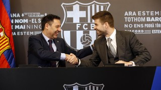 Gerard Piqué: 'I can only see myself in a Barça shirt'