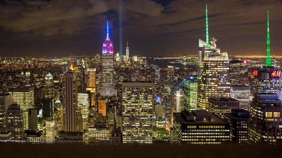 The Empire State Building, Long One Of New Yorku0027s Most Recognizable  Symbols, Was Illuminated With The FC Barcelona Colors The Day After The  Inauguration Of ...