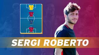 Sergi Roberto's Top 4