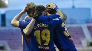 FC Barcelona B - Granada (3-0)