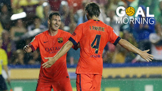 Goal Morning! We start the day with an amazing goal by Ivan Rakitic...