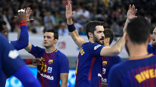 Barça Lassa- At.Valladolid  (34-30) 1/4 final Copa del Rey2017/2018