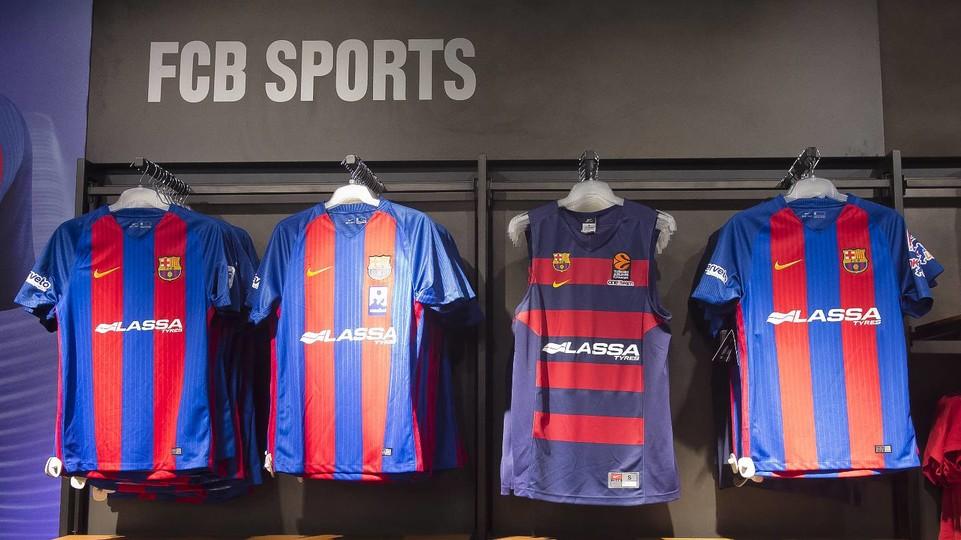equipacion Barcelona en venta