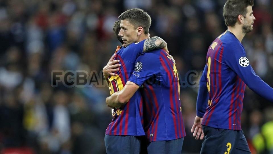 صور مباراة : توتنهام - برشلونة 2-4 ( 03-10-2018 )  100648188
