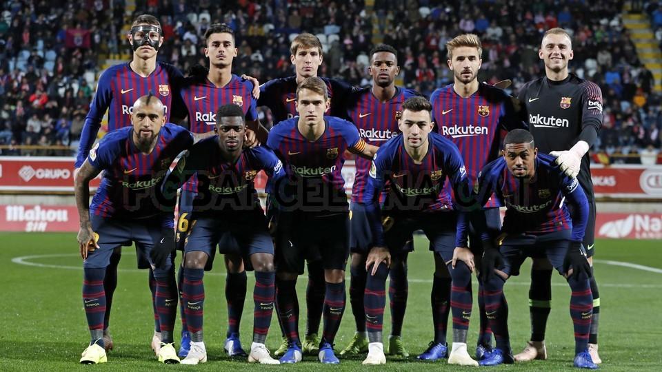 صور مباراة : كولتورال ليونيسا - برشلونة 0-1 ( 31-10-2018 ) كأس ملك إسبانيا 101944573