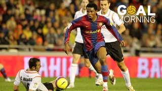 Goal Morning! Eto'o, a predator in Mestalla